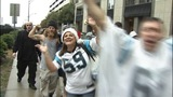IMAGES: Panthers fans celebrate win over Saints - (8/8)