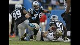 IMAGES: Panthers beat Saints, heading to playoffs - (4/19)