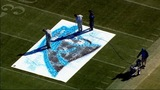 IMAGES: Panthers' field painted ahead of playoff game - (6/23)