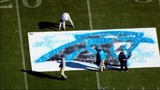 IMAGES: Panthers' field painted ahead of playoff game - (7/23)