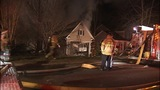 IMAGES: House fire erupts in east Charlotte - (4/6)