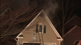IMAGES: House fire erupts in east Charlotte - (1/6)