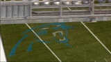 IMAGES: Panthers' field painted ahead of playoff game - (22/23)