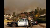 IMAGES: Massive wildfire near Glendora, CA - (4/25)