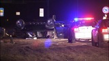 Woman killed when car flips on I-77 - (1/10)