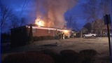 IMAGES: 3 people safe after Caldwell Co. fire - (2/7)