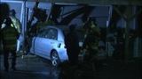 IMAGES: Car flies off I-277 crashing into… - (2/10)