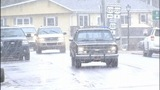 Snow fell in Blowing Rock Monday - (1/9)