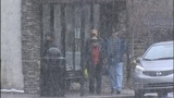 Snow fell in Blowing Rock Monday - (9/9)