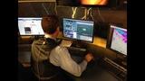 Behind the scenes: WSOC-TV studios during… - (9/20)