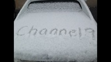 IMAGES: Snow falling in Charlotte Tuesday - (24/25)