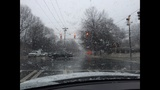 IMAGES: Snow falling in Charlotte Tuesday - (10/25)