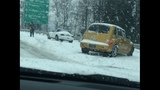 IMAGES: Snowstorm accidents in Charlotte area - (10/15)