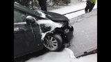 IMAGES: Snowstorm accidents in Charlotte area - (8/15)