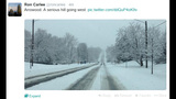 IMAGES: Ron Carlee tweets photos of road conditions - (1/4)