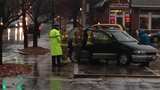 IMAGES: Car flips near uptown - (5/9)