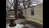 Luck saves son's life after tree crashes through home  _4713917