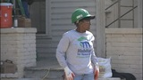 IMAGES: Firefighters help rebuild home that… - (10/15)