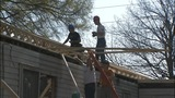 IMAGES: Firefighters help rebuild home that… - (15/15)
