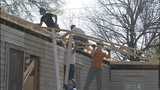 IMAGES: Firefighters help rebuild home that… - (8/15)