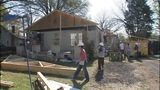 IMAGES: Firefighters help rebuild home that… - (1/15)