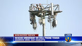 IMAGES: Rescue of worker on cellphone tower - (13/25)