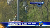 IMAGES: Rescue of worker on cellphone tower - (17/25)