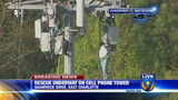 IMAGES: Rescue of worker on cellphone tower - (18/25)