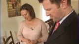 IMAGES: Jason Crisp widow Amanda talks with… - (1/13)