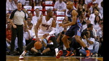 IMAGES: Bobcats fall to Heat in Game One - (10/13)