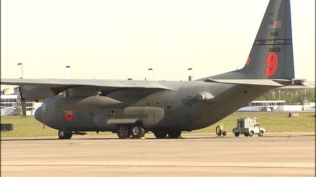 IMAGES: NC Air National Guard unit will train in Wyoming