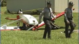 IMAGES: Small plane collides with man on lawn… - (12/13)