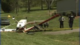 IMAGES: Small plane collides with man on lawn… - (8/13)