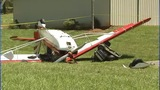 IMAGES: Small plane collides with man on lawn… - (9/13)