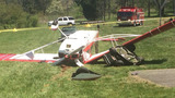 IMAGES: Small plane collides with man on lawn… - (13/13)