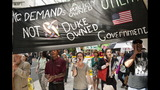 IMAGES: Protestors Rally Outside Duke Energy HQ - (9/14)