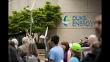 IMAGES: Protestors Rally Outside Duke Energy HQ - (4/14)