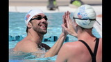 IMAGES: Michael Phelps enters 2 events at… - (2/15)