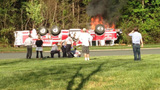 IMAGES: Fire engine overturns in south Charlotte - (15/18)