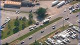 CHOPPER IMAGES: Scene of Brookshire Blvd. crash - (23/25)