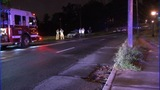 IMAGES: Car crashes into utility pole in west… - (1/8)