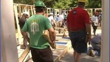 IMAGES: Local veterans help build home - (7/10)