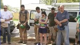 IMAGES: Local veterans help build home - (9/10)