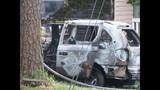 IMAGES_ Concord fire destroys car, damages house_5318635