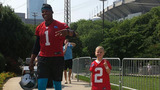 IMAGES: Panthers welcome new 6-year-old QB to… - (3/7)