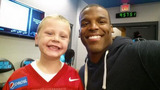 IMAGES: Panthers welcome new 6-year-old QB to… - (5/7)