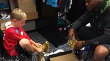 IMAGES: Panthers welcome new 6-year-old QB to… - (6/7)