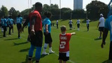 IMAGES: Panthers welcome new 6-year-old QB to… - (4/7)