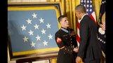 IMAGES: Veteran who studies at USC gets Medal… - (2/10)