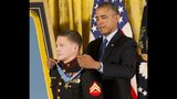 IMAGES: Veteran who studies at USC gets Medal… - (4/10)